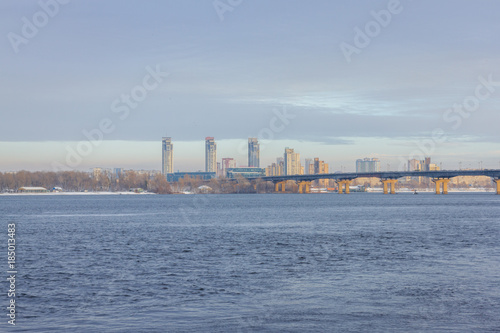 Foto op Plexiglas Kiev View of the Dnieper