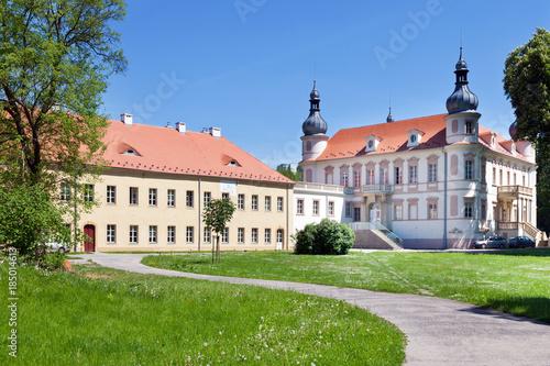renaissance castle Krasne Brezno, Usti nad Labem, Czech republic Poster