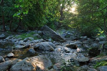 rivière de costa verde en  montagne Corse