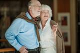 Portrait of senior couple - 185038872