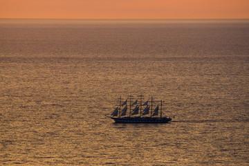 Royal Clipper vor Elba 5