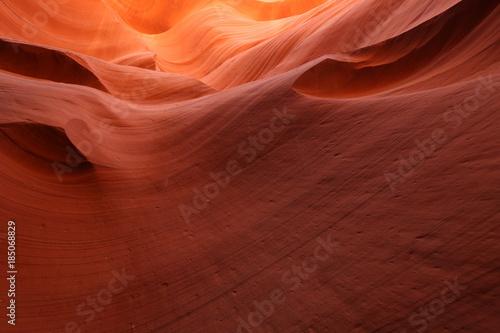 Foto op Canvas Baksteen The Crack Antelope Canyon