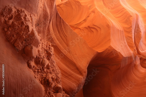 Keuken foto achterwand Baksteen Antelope canyon in Grand canyon