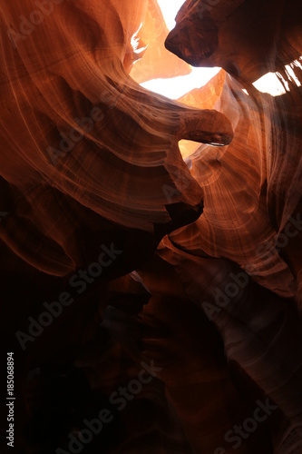 Papiers peints Marron Beautiful Antelope canyon in Grand canyon
