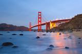 Golden Gate bridge at night - 185077852