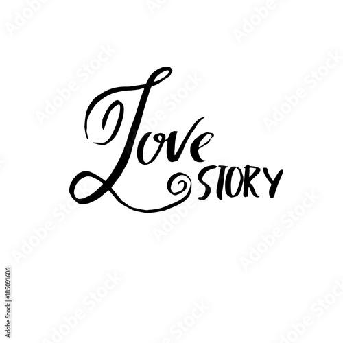 Póster Historia de amor
