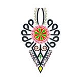 Polski folklor - kolorowy wzór, parzenica - 185142488