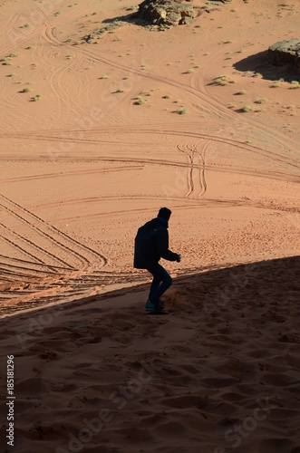 Surf sulle dune Poster