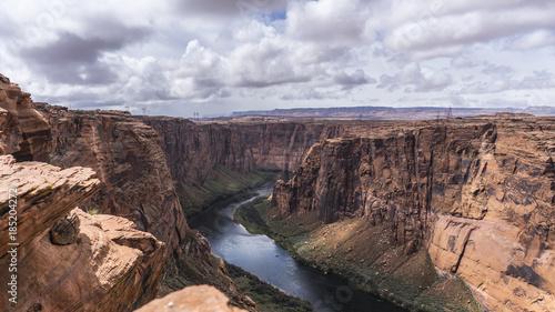 Fotobehang Zalm canyon