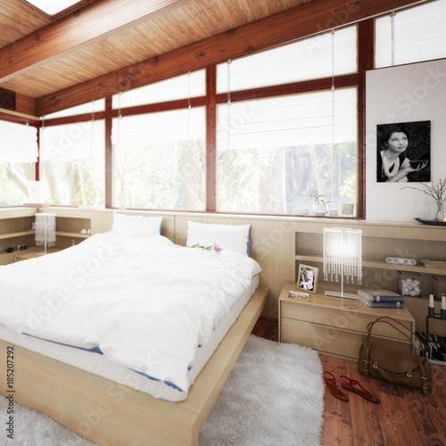 Plagát Verandaausbau zum Schlafzimmer (Detail)