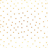 Magic golden stars and snow. Seamless vector pattern. Merry Christmas and happy New Year. - 185215898
