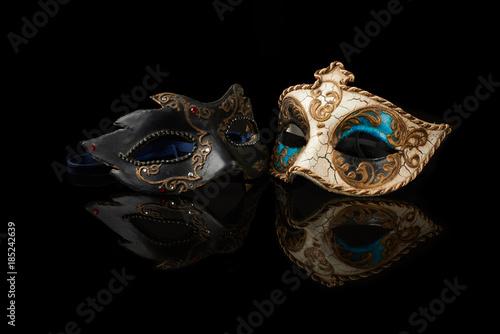 obraz PCV venetian carnival mask