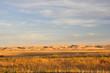 Pink and Blue Prairie Skies