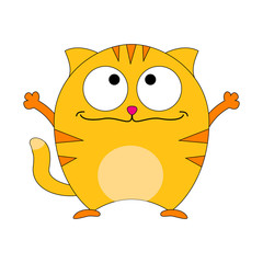 Cute catoon cat