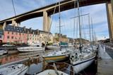 Le port du Léguer à Saint-Brieuc en Bretagne - 185293889
