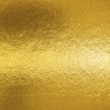 Leinwanddruck Bild - Gold foil leaf shiny metallic wrapping paper texture background for wall paper decoration element