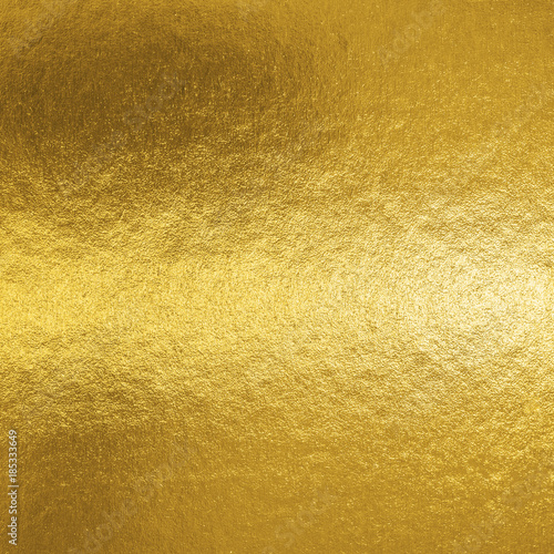 Leinwanddruck Bild Gold foil leaf shiny metallic wrapping paper texture background for wall paper decoration element