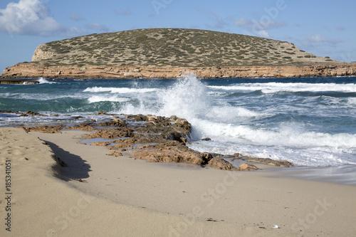 Comte Beach in Ibiza