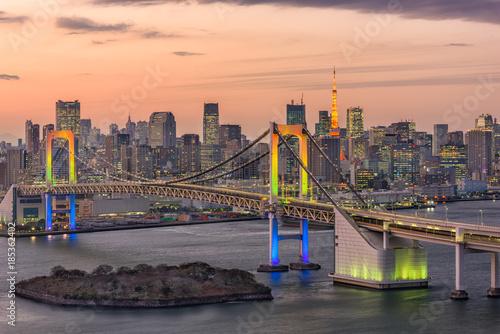 Tokyo Bay Japan Skyline