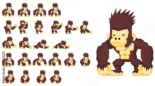 The Ape Game Character