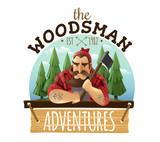 Lumberjack Woodsman Adventures  Logo Icon  Wall Sticker