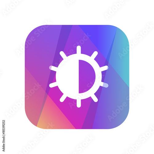 Multi-Color App Button - 185391252