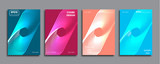 Creative colored cover. Cover design.