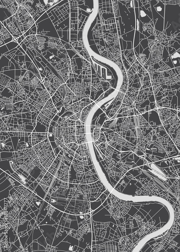 Cologne city plan, detailed vector map   Buy Photos   AP Images ...