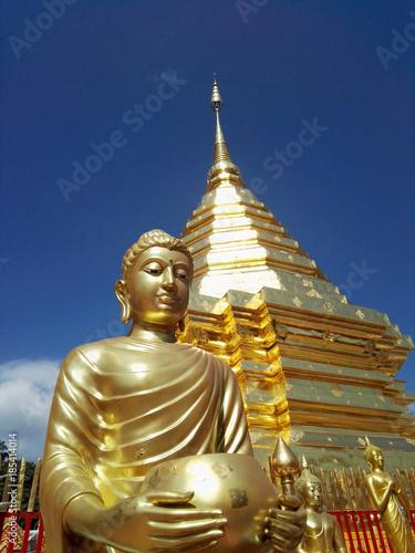 Aluminium Thailand Buddhism pagoda in Thailand