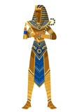 royal egyptian pharaoh  - 185434469