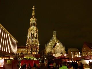 ニュリンベルクのクリスマスマーケット