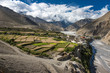 Nepal - Upper Mustang - view on Kagbeni