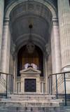 Entrance way and pillars