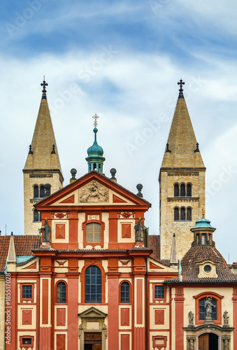 St George Basilica,Prague Poster