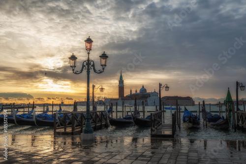 Venezia bacino san Marco Poster