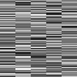 Black and White Straight Horizontal Variable Width Stripes Background - 185534836
