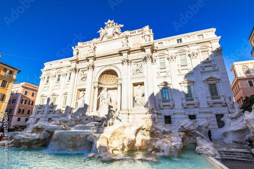 Fotobehang Rome ローマ トレビの泉