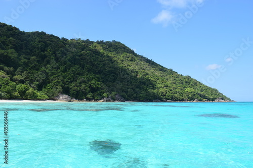 Fotobehang Turkoois Similan islands