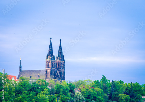 cathedral in Prague Czech Republic Poster