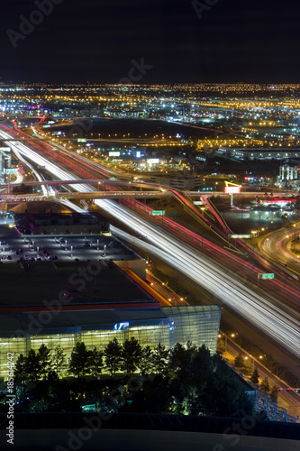 Fotobehang Las Vegas Las Vegas Freeway