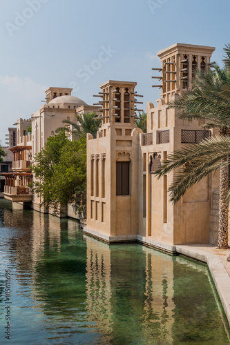 Fotobehang Dubai Madinat Jumeirah in Dubai, UAE