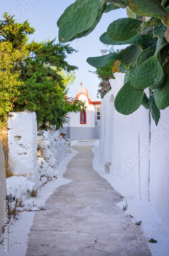 Architecture in Leros island, Dodecanese, Greece © kokixx