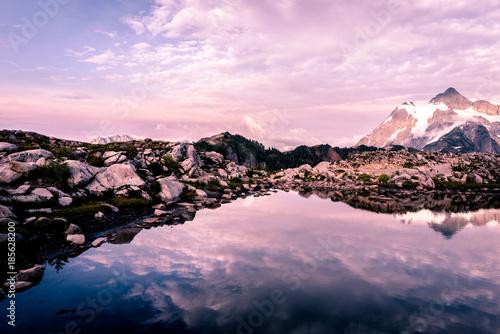 Fotobehang Lichtroze Artist Point Views at Mount Baker