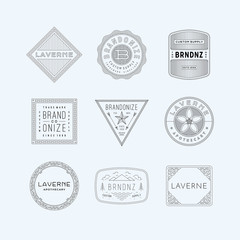vintage logo, insignia & badges 5
