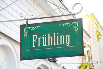 Schild 266 - Frühling