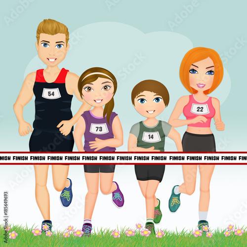 family runs