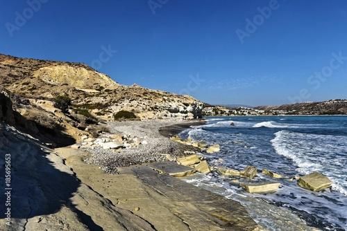 In de dag Cyprus Zypern - Pissouri Bay