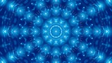 flowing light, blue abstract background, loop - 185755462