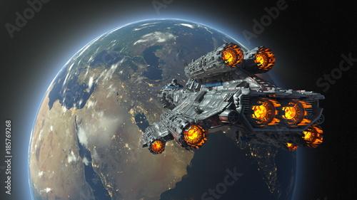 宇宙船 © tsuneomp