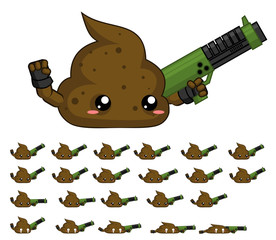 Turd Game Character